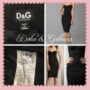 😍Dolce & Gabbana bustier Dress used once😍